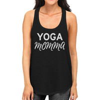 Yoga Momma Tank Top Yoga Work Out Tank Top Gif For Yoga Mom