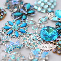 10pcs Tiffany Blue Assorted