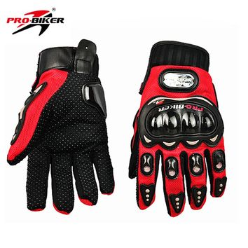 3 Colors Motorcycle Gloves ATV MTB dirt bike full finger Glove Protective gear SIZE:M/L/XL/XXL Racing motocross Gloves