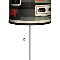 "Lamp-In-A-Box Artist Carlos Ramos ""BA Select Start"" 20"" H Table Lamp with Drum Shade"