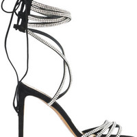 Alexandre Vauthier Crystal Embellished Sandals - Farfetch