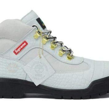 Supreme Timberland Field Boot - White