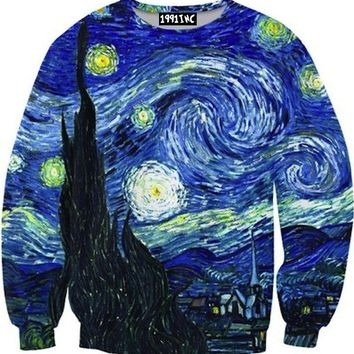 ☮♡ Starry Night Sweater ✞☆