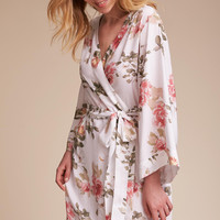 Morning Light Floral Robe