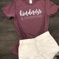 Heather Kindness Graphic Tee