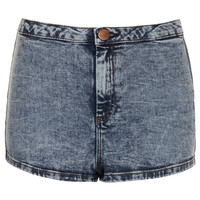 MOTO Acid High Waist Hotpants - New In This Week - New In - Topshop