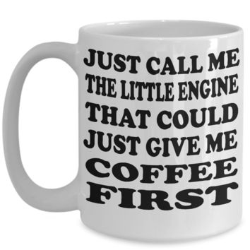 Little Engine That Could Coffee Mug Gift