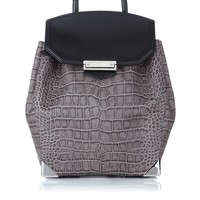 Oyster Leather Prisma Backpack | Alexander Wang | Avenue32