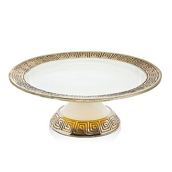 Greek Key Cake Stand