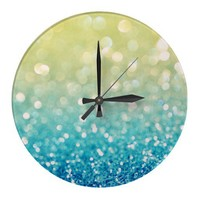 Dream Flurries Wallclock from Zazzle.com