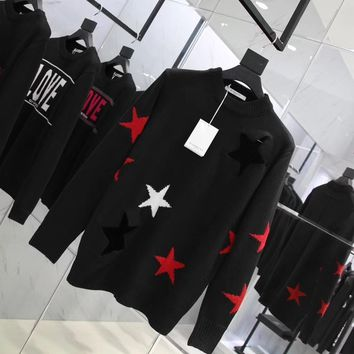 cc spbest Givenchy Star Sweater