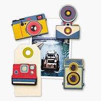 Shutterbug Magnets (set of 4)