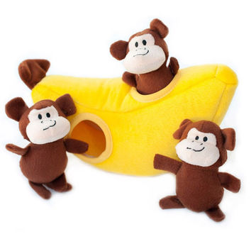 Monkey n' Banana Burrow Toy