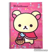 Rilakkuma College Ruled Spiral Notebook : Pink $1.99