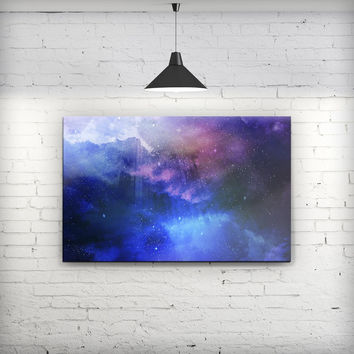 Space Light Rays - Fine-Art Wall Canvas Prints
