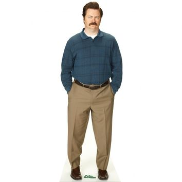 PARKS AND RECREATION RON SWANSON STANDEE