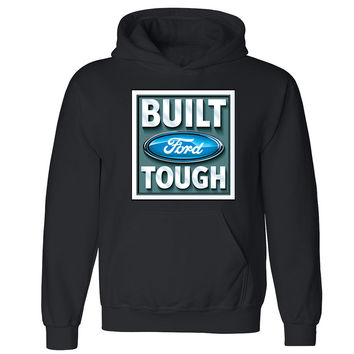 Zexpa Apparel™ Licensed Built Ford Tough Unisex Hoodie Rodeo American Classic Hooded Sweatshirt