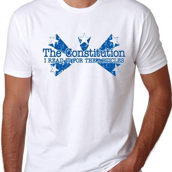 Constitution t shirt funny reading shirt S-4XL