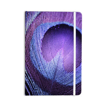 "Monika Strigel ""Purple Peacock"" Lavender Everything Notebook"