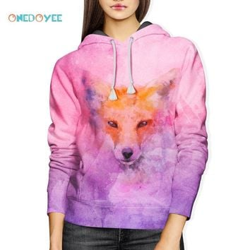 Onedoyee Big Sale Women Clothes Sweatshirts Long Sleeve Skateboarding Hoodies for Autumn Winter High Quality Cheap Tops Hooded