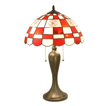 Boston Red Sox MLB Tiffany Desk Lamp