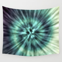 TIE DYE II Wall Tapestry by Nika