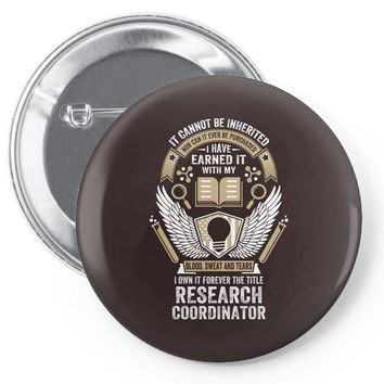 I Own It Forever The Title Research Coordinator Pin-back button
