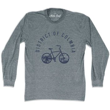 District of Columbia Bike Long Sleeve T-shirt