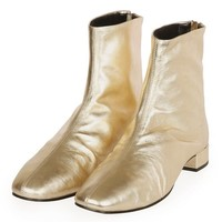 KROME Leather Boots - New In