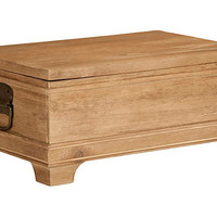 One Kings Lane - Everyday Elegance - Greenwich Trunk, Small