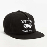 OBEY Dice Snapback Hat - Urban Outfitters