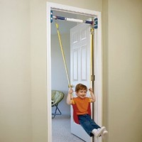 Amazon.com: Rainy Day Playground Indoor strap swing (to be used with support system): Toys & Games