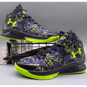 Under Armour Curry 1 Generation SC Basketball Boots F-A36H-MY Pu 9ff0d5a86
