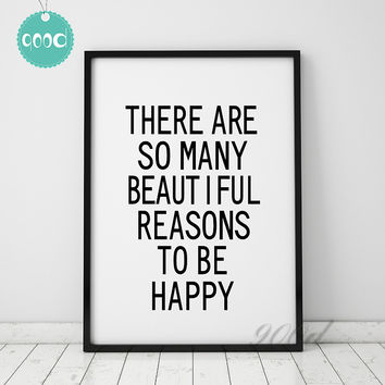 Inspiration Quote Canvas Art Print Painting Poster, Wall Pictures For  Living Room Decoration, Wall