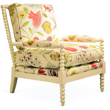 Bankwood Chair, Floral, Accent & Occasional Chairs