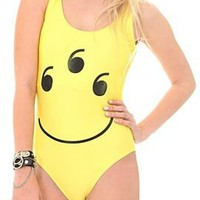Happy Face Monokini - 173156