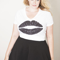 Beauty Religion Black Kiss Tee - Shop Women's Missy & Plus Size Clothing