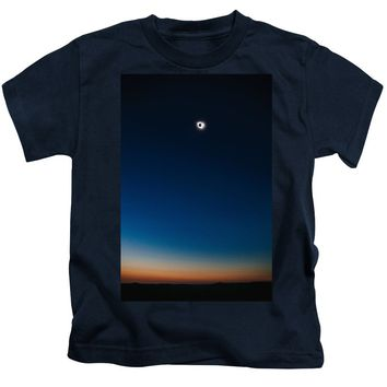 Solar Eclipse, Syzygy, The Sun, The Moon And Earth - Kids T-Shirt