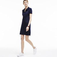Women's Stretch Mini Piqué Polo Dress