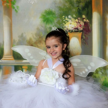 Sweet Angel Fairy Princess Tutu Costume ......Great for Halloween,Photo props and dress up