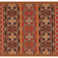 Maynard Outdoor Rug, Red/Chocolate, Area Rugs