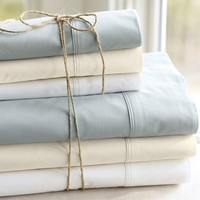 PB Organic 400-Thread-Count Sheet Set