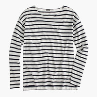 J.Crew Womens Deck-Striped T-Shirt