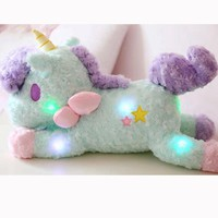 Glow In The Dark Unicorn Plush