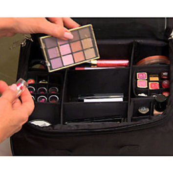 Ultimate Cosmetic Organizer Case by Lori Greiner — QVC.com