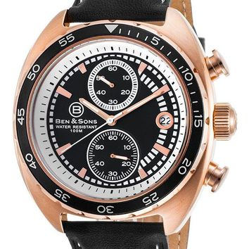 Ben and Sons Pantera Chronograph Mens Watch BS-10021-RG-01
