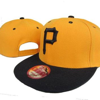 Pittsburgh Pirates New Era MLB 9FIFTY Cap Yellow-Black