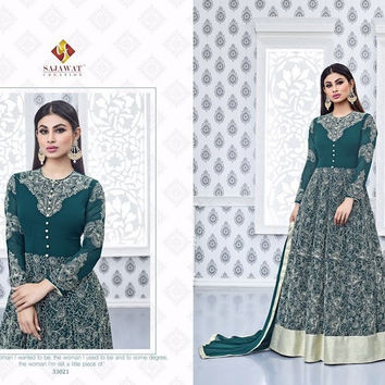 Naagin VOL 3 By Sajawat Mouni Roy Collection Georgette Long Anarkali Suits