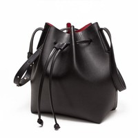 Bucket bag Draws Leather Shoulder Pouch