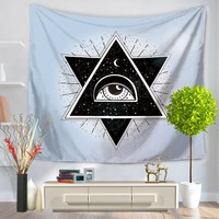 Mandala Tapestry 200CM Polyester Wall Tapestry Eyes Tapestry Yoga Mat Home Decor Carpet toalla mandalas playa